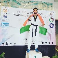 Rajesh Baba Baba Taekwondo Player