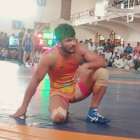Manish Chandi Wrestling Player