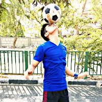 Hitesh Bisht Football Player