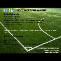 u-16 football tournament 's profile