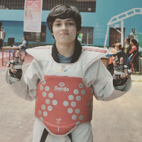 shraddha  Dixit Taekwondo Player
