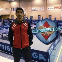 Ragul Ramakrishnan Table Tennis Player