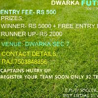 Dwarka Futsal Cup's cover