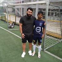Ishaan Shishodia Football Physio